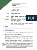 Agenda - March 2017 Scrutiny Committee