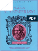 (American University Studies. Series XX, Fine Arts _ 24) Liana de Girolami Cheney-Readings in Italian Mannerism-Peter Lang Publishing (1997)