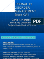 Personality Disorder Dr Carla