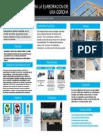 Poster Cientifico de Madera Plastica