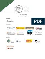 Programa provisional Congreso Cómic Zaragoza 2017