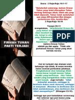 FIRMAN TUHAN PASTI TERJADI.pptx