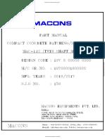 s.j.o-158 Mac-112 Twin Shaft Mixer