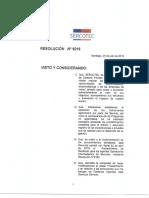 Resolución N 9216 - Modificación Procedimiento Rendición Agentes Operado...