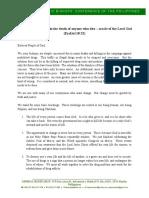 Cbcp Pastoral Statement Ejk English
