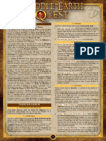 Middle Earth Quest - Resumen