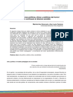 Genovesi y Centeno- Representaciones Políticas, Éticas y Estéticas Del Horror Del Continuum Al Disenso Sensible
