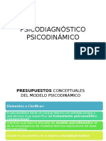 Psicodiagnostico Psicodinamico Clase 01abril