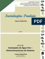 IP - AULA 06 - Instalações de Água Fria