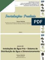IP - AULA 04 - Instalações de Água Fria