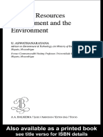 Mineral Resources Management and the Enviroment
