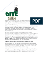 Andrew Wommack Why, When, And Where to Give