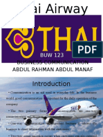 Thai Airways Presentation