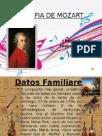 biografia de mozart PPT