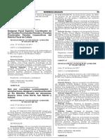 Designan Fiscal Superior Coordinador de las Fiscalías Provinciales Penales y Fiscalías Provinciales Penales Corporativas del Distrito Fiscal de Cañete