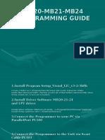 17mb20!21!24 Programming Guide