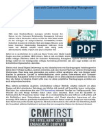 CRM Anwendung