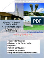 Seismicity and Design of Shear Walls