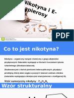 prezentacja chemia nikotyna