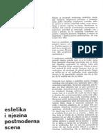 Esetika i Postmoderna Sena