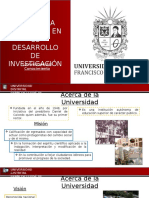 Presentación Universidad Distrital