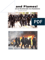 Fire and Flames! - A Militant Report on Toronto Anti-G20 Resistance 2010