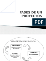 Formulacion de Proyectos-Fases