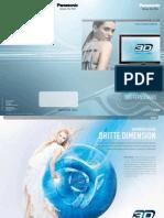 Panasonsic 3D TVs