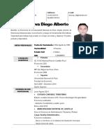 CV - Diego Alberto Cano Cordova