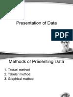 21-5 Presentation of Data