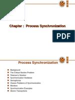 OS Process Synchronization
