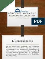Sesion 13 Relaciones Laborales y Negociacion Colectiva