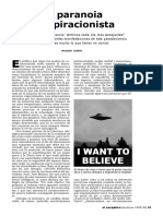 Articulo la paranoia conspiracionista..pdf