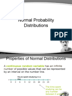 21-11 Normal Probability Distributions