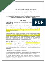 CNE- PAL Inhabilidades Parientes Nepotismo Electoral
