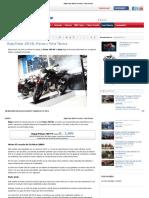 Bajaj Pulsar 200 NS, Precios y Ficha Técnica