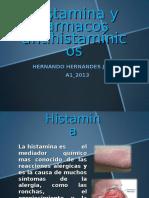 1histamina y Farmacos Antihistaminicos Hernanndo Hernandez