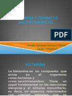 1histamina y Farmacos Antihistaminicos Angie Tatiana