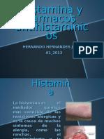 1histamina y Farmacos Antihistaminicos Hernanndo Hernandez (1)