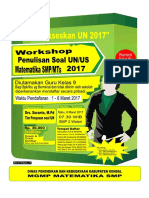 Brosur Workshop