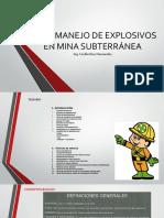 8.3 Mat Didac Uso y Manejo de Explosivos en Mina Subterránea 20sep15