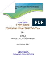 Bahan Rakornas Dirjen PKT Kemendes 31 Maret 2015