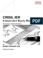 Orient Cement Ltd GR