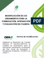 PPT Nuevos Lineamientos Planefa - Gob. Locales