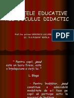 0 Jocul Didactic