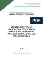 metodologia reactivos 15