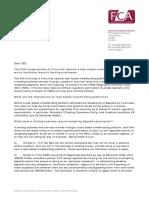 Dear Ceo Letter Crowdfunding Lending Businesses