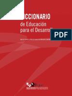 Dicc educacion desarrollo