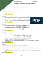 Exercices Corriges Developpements Limites Et Calculs de Limites