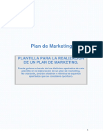 Plantilla Plan Marketing